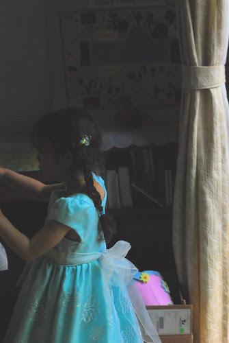 sasha's dress back
