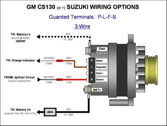 1995 Chevy Alternator Wiring