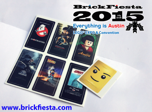 Brick Fiesta Swag: LEGO-ized Movie Posters!
