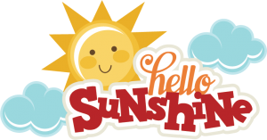 Hello Sunshine SVG files for cutting machines sun svg file cloud svg file summer svg cut files for scrapbooking