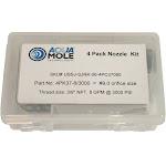 "3/8"" Button Nose Sewer Jetter Nozzle Set 8.0 GPM 3000 PSI 9.0 Orifice"