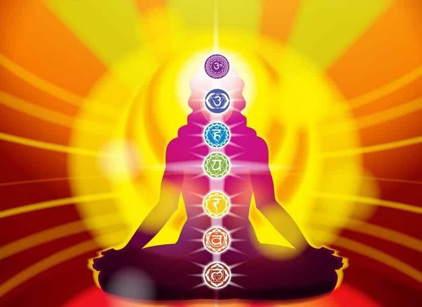 los símbolos de los chakras