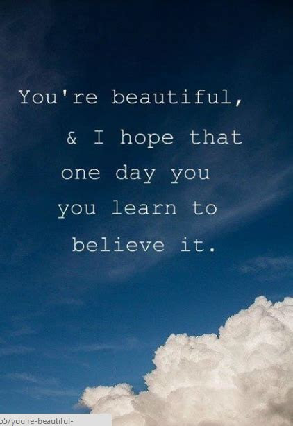 Youre So Beautiful Quotes For Her