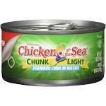 Chicken of the Sea Tuna Chunk Light - 7 Ounces - 12 ct