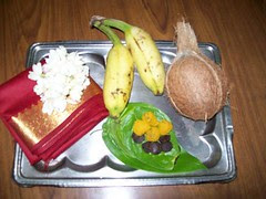 Thamboolam - Gifts for Puja Attendees