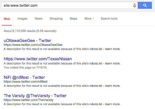 No Twitter Did NOT Just De-Index - Web Marketing School