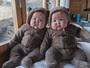 Gêmeas conquistam a internet em página do Instagram que é pura fofura