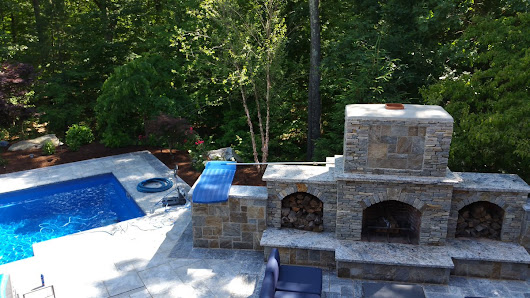 "OUTDOOR KITCHENS CT on Twitter: ""Nothing more mesmerizing & romantic than the snap, crackle pop of an outdoor fireplace. #HamptonsOutdoorFabulous.com """