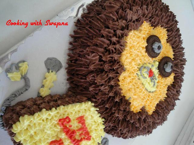 lion cake 3