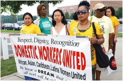 """""""Respeito, dignidade, reconhecimento"""" - Trabalhadoras domésticas unidas"""