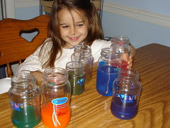 BPA Bottle Reuse: Primary Color Mixing Games