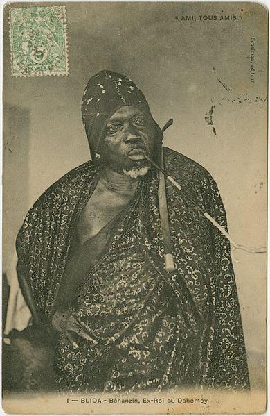 File:Blida (Algeria) - Béhanzin, former King of Dahomey.jpg