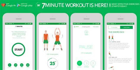 7 Minute Workout   Android Apps on Google Play