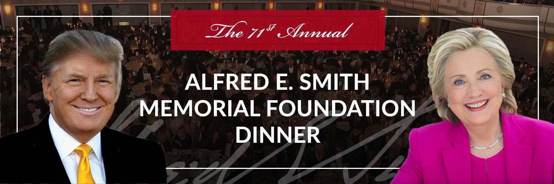 Image result for Al Smith Dinner 2016