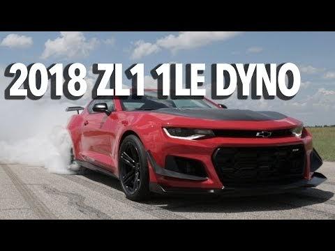 2018 zl1 1le camaro dyno testing burnout sciox Images
