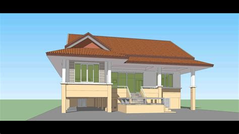 tutorial sketchup create house model   hour youtube