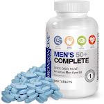 Bronson One Daily Mens 50+ Complete Multivitamin Multimineral (180)