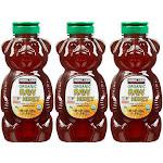 Kirkland Organic Raw Honey Bears, 24 oz. (Pack of 3)