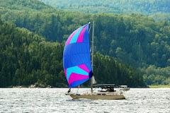 Lena Bea on the Saguenay Fjord