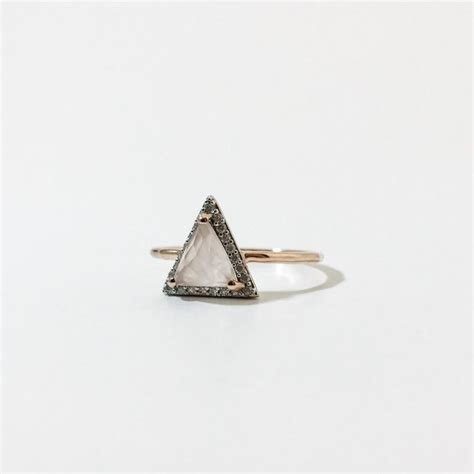 Best 25  Triangle ring ideas on Pinterest   Triangle