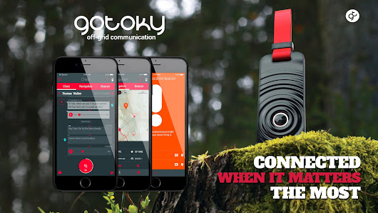 GOTOKY. Most advanced 100% off-grid communication network