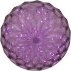 Vickerman 30 Light x 6 inch LED Purple Crystal Ball Outdoor