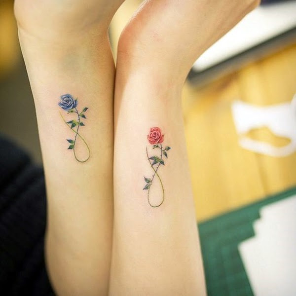 Adorable Sisters Forever Tattoo Design Ideas (33)