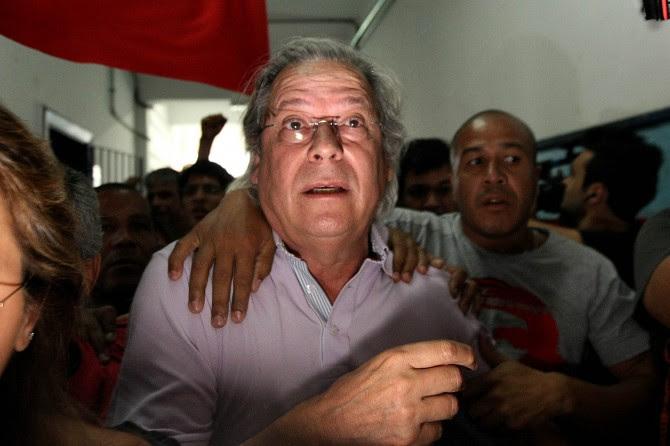 O ex-ministro José Dirceu. Para o Supremo, ele participou de um esquema de 'utilização abusiva e criminosa do aparato governamental'. Foto: Marcio Fernandes/ AE
