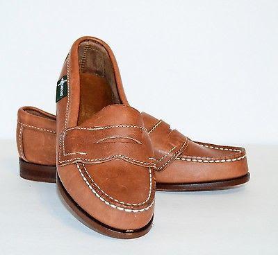 Eastland Women's Tan leather Penny Loafers 6M