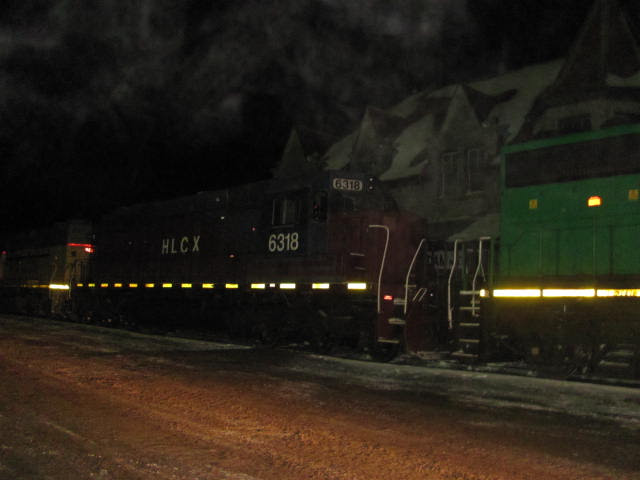 HLCX 6318 in McAdam, NB by Jody Robinson
