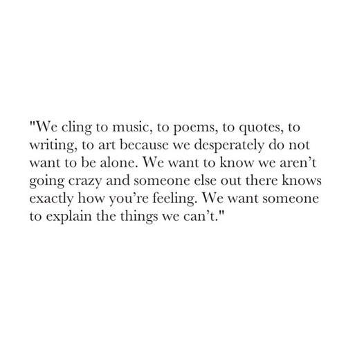 Lost Art Quote Life Tumblr Text Depressed Depression Sad Music