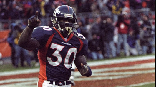 Terrell Davis a finalist for the Pro Football Hall of Fame