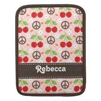 Cherry iPad Sleeve rickshawsleeve
