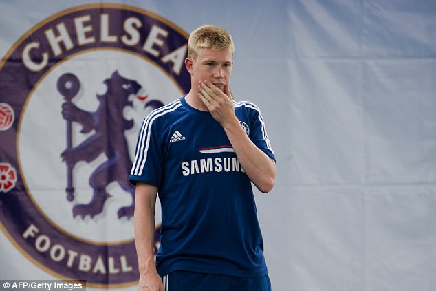 He felt he was ready to play while at Chelsea but found first-team opportunities limited