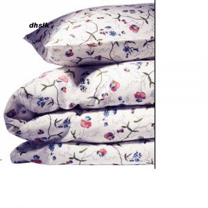 New IKEA ALVINE ÖRTER Orter QUEEN Duvet COVER Set FLORAL