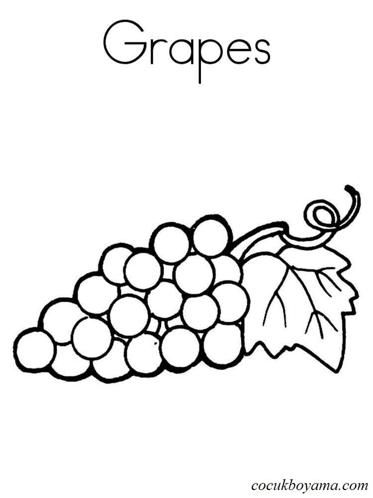 Meyveler 59 ücretsiz Boyama Resimleri