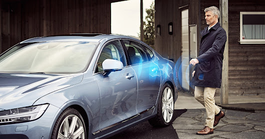 Volvo Ditches the Car Key to Make Way for the Future