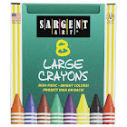 (12 Bx) Crayons Lrg Tuck Box 8 Per Box