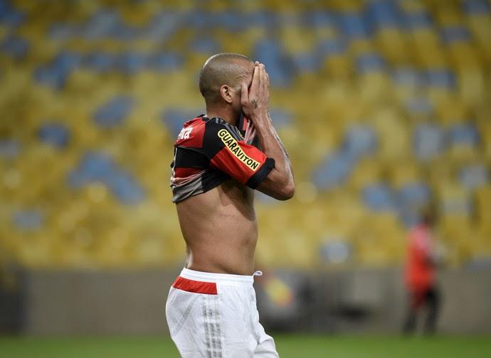 Emerson Sheik Flamengo x Grêmio Maracanã (Foto: André Durão)