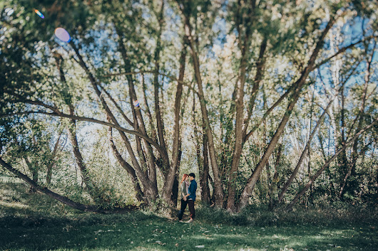 Calgary Engagement Session // Mallory + Mark