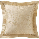 Isabella Gold 18 in. Pillow by Marquis By Waterford