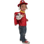 Paw Patrol Marshall Child Costume, Red/Black, Small