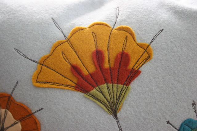 flower stitch details