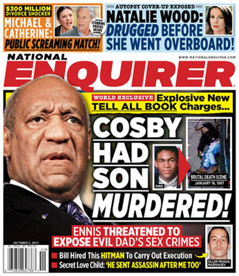 The National Enquirer: Bill Cosby 'had son murdered'