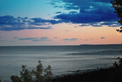 Evening Over Penobscot Bay