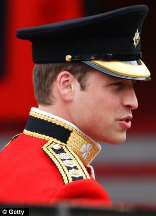 Prince William of Wales arrives to attend his Royal Wedding