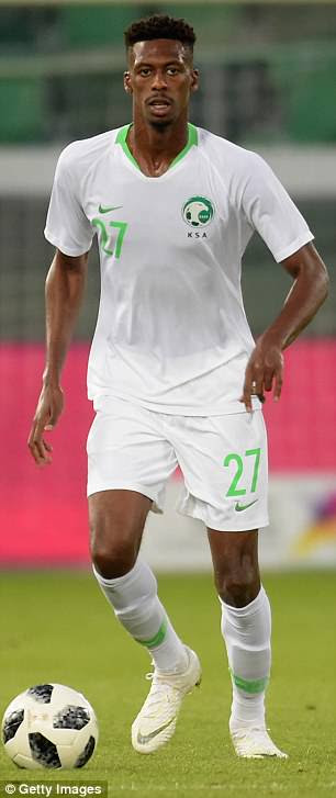 Saudi Arabia will play in simple white home and green away strips in Russia