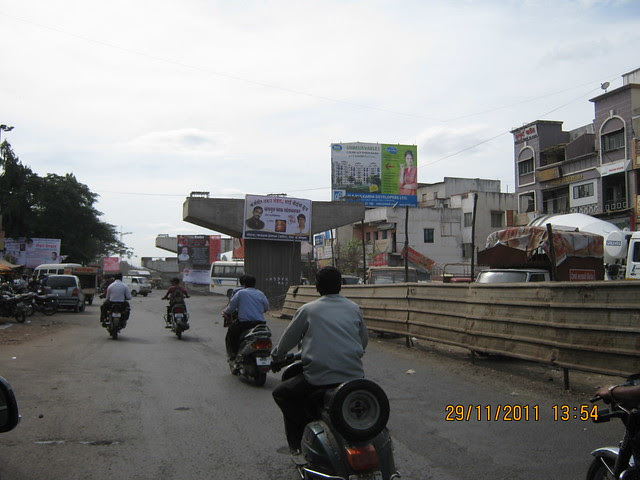 On your way to Urbangram Kirkatwadi you will see the under construction flyover at Dhayari Phata on Sinhgad Road, Pune, which will reduce your traveling time