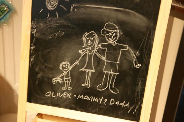 Oliver's Chalkboard