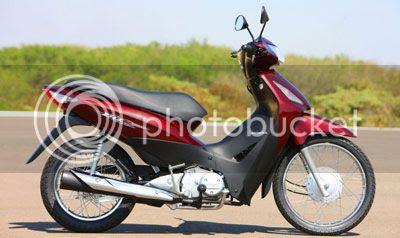 Foto Lançamento Nova Honda Biz com injeção eletrônica modelo 2009